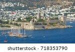 bodrum  turkey   august 3  2013.... | Shutterstock . vector #718353790