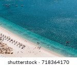 beach landscape view of the... | Shutterstock . vector #718364170