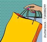 vector comic text store...   Shutterstock .eps vector #718388299