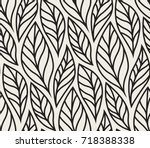 Vector Illustration Of Leaves...
