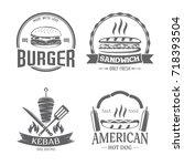 vector illustration set of...   Shutterstock .eps vector #718393504