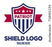 emblem vector template | Shutterstock .eps vector #718401154