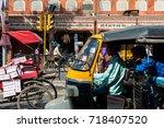 jaipur  rajasthan  india  ... | Shutterstock . vector #718407520