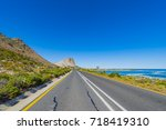 cape town  clarence drive  ... | Shutterstock . vector #718419310