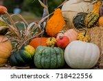 Decorative Fall Display Of...