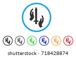classic guard rounded icon.... | Shutterstock .eps vector #718428874