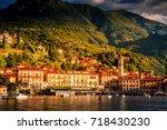 lake como  menaggio  italy.... | Shutterstock . vector #718430230
