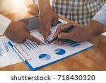 business concept. business... | Shutterstock . vector #718430320