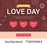love day event | Shutterstock .eps vector #718434064