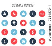 set of 20 editable cookware...