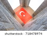 canakkale martyrs' memorial is...   Shutterstock . vector #718478974