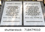 canakkale martyrs' memorial is...   Shutterstock . vector #718479010