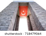 canakkale martyrs' memorial is...   Shutterstock . vector #718479064