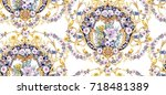 Baroque Seamless Pattern With...