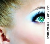 beautiful face. | Shutterstock . vector #71848444