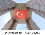 canakkale martyrs' memorial is...   Shutterstock . vector #718485268