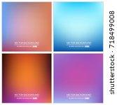 abstract creative concept... | Shutterstock .eps vector #718499008