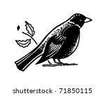 Bird   Retro Ad Art Banner