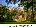 cook's cottage | Shutterstock . vector #718597519