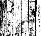 distress dry wooden overlay... | Shutterstock .eps vector #718600096