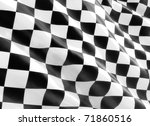 racing flag | Shutterstock . vector #71860516
