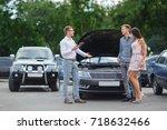 Buying Used Car. Car Dealer...