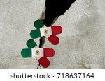 mexico city  mexico  19...   Shutterstock . vector #718637164