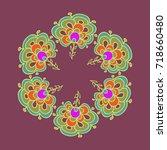 simple colorful decorative...