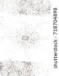 dark brown grunge background.... | Shutterstock . vector #718704898