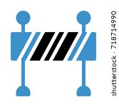 boundary icon | Shutterstock .eps vector #718714990