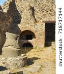 Roman Oven And Stone Hand Mill...