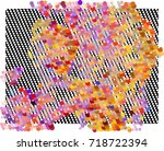 abstract background. spotted... | Shutterstock .eps vector #718722394