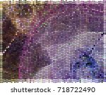 abstract background. spotted... | Shutterstock .eps vector #718722490