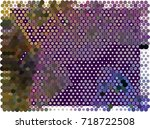 abstract background. spotted... | Shutterstock .eps vector #718722508