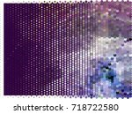 abstract background. spotted... | Shutterstock .eps vector #718722580