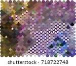 abstract background. spotted... | Shutterstock .eps vector #718722748