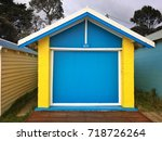 dromana public foreshore... | Shutterstock . vector #718726264