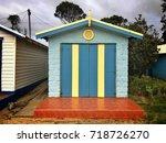dromana public foreshore... | Shutterstock . vector #718726270