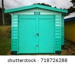 dromana public foreshore...   Shutterstock . vector #718726288