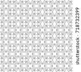 seamless geometric background.... | Shutterstock .eps vector #718732399