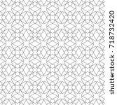 seamless geometric background.... | Shutterstock .eps vector #718732420