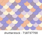 Fish Scale Pattern  Abstract...