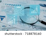 accounting. | Shutterstock . vector #718878160
