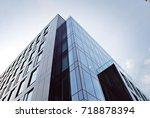 modern office building | Shutterstock . vector #718878394