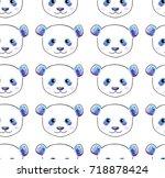 cute kids stylized cartoon hand ...   Shutterstock .eps vector #718878424