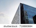 modern office building | Shutterstock . vector #718880884