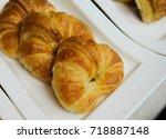 Three Delicious Croissants Are...