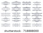 collection of templates....   Shutterstock .eps vector #718888000