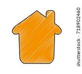 house real estate | Shutterstock .eps vector #718902460