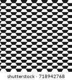 hexagon vector pattern pattern...   Shutterstock .eps vector #718942768